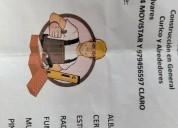 Maestro constructor gasfiter y electricidad curico
