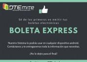 Boleta express | emite boletas electrónicas
