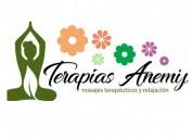 Terapias anemij masajes san miguel