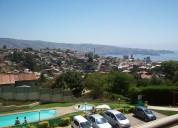 departamento vista mar  valparaiso  piscina esta