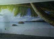Maestro instalacion de papel mural