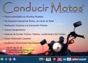 Clases conducciÓn de motocicletas