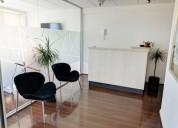 Moderna oficina metro manquehue cerro el plomo las condes 3 dormitorios 65 m2