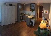 Departamento tipo estudio en comuna de santiago centro 1 dormitorios 33 m2