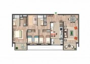 Amplio depto colon con manquehue sur 3d 2b 3 dormitorios 103 m2
