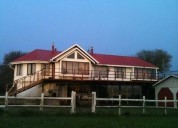 Hermosa casa en coinco rural quellon chiloe 4 dormitorios 180 m2