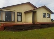 Linda casa a minutos de castro sector de rilan 2 dormitorios 110 m2