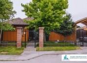 Casa en solar del parque las rastras talca 4 dormitorios 190 m2