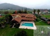 Espectacular casa en las palmas del oliveto talagante 8 dormitorios 960 m2