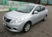 Nissan versa 2012 31000 kms