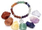 Pulsera 7 chakras de piedras naturales