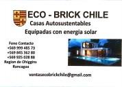 Sfecemos y construimos casas autosustentable con e