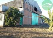 Inversionistas terreno y galpon parque escuadron 570 m2