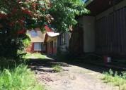 Vende sitio con 3 casas 1 dpto sector centrico los angeles 8 dormitorios 280 m2