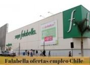 Grupo falabella – más de 30 ofertas de trabajo en