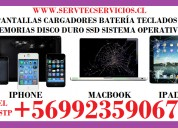 Servicio técnico reparación iphone macbook ipad