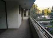 Amplio departamento en providencia 3 dormitorios 95 m2