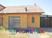 Se vende casa en villa florencia talca 2 dormitorios 54 m2