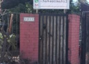 Se vende casa esquina en av rinconada maipu 3 dormitorios 70 m2
