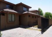 Casa estilo colonial con tejas chilenas santiago