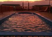 Se arriendan casas para 6 personas con piscina el tabo