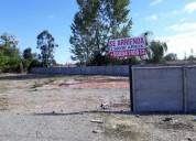 Vendo Terreno rebajadao lado carretera sector santa elena