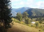 Campo de 17 hectareas en lonquimay lonquimay