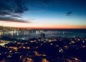Habitacion con vista panoramica a la bahia de variaraiso valparaiso en valparaíso