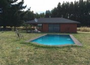 casa country santa eliana con piscina 2 dormitorios 100 m2