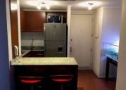 Departamento en arriendo metro toesca 1 dormitorios 44 m2