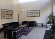 arriendo oficina seminueva ano 2017 en providencia 2 dormitorios 32 m2