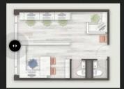 arriendo oficinas nuevas tobalaba metro colon providencia 1 dormitorios 34 m2