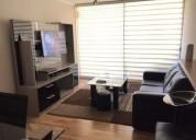 Departamento amoblado en condominio cerrado 2 dormitorios 67 m2