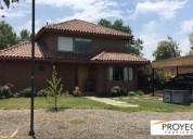 Casa chilena santa elena de chicureo 4 dormitorios 126 m2