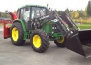Tractor john deere 6200 s m/ laster
