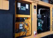 Generador 100 kva motor cummins y carro arrastre