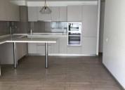 Metro los dominicos 1d 1b bod gym cocina equip roller 1 dormitorios 50 m2