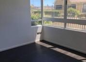 Arriendo amplio y soleado departamento 3 dormitorios 80 m2