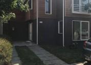 Amplia casa en condominio jardines de la montana lampa 3 dormitorios 90 m2