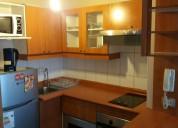 Departamento Amoblado Metro Universidad De Chile Santiago 1 dormitorios 40 m2