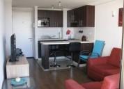 Arriendo departamento amoblado nataniel cox 2 dormitorios 45 m2