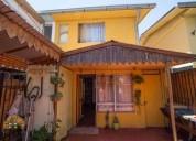 Se vende casa en maipu los pidenes 3 dormitorios 66 m2
