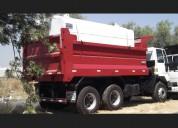 Camión aljibe despacho de agua
