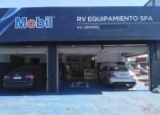 Garage rv equipamiento