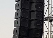 Sistema line array audio lab 212 y powers