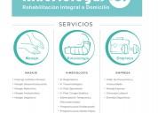 Kinesiología a domicilio en región metropolitana