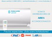 Ventas de equipos de aire acondicionado
