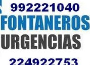 Destapes stgo tinas wc baÑos emergencias 992221040