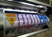 Letreros pendones adhesivos empavonado