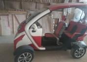 Vehiculo electrico kumi rorjo-blanco